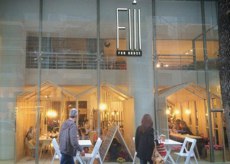 Fiii Fun House - Quán cafe thú vị tại Argentina