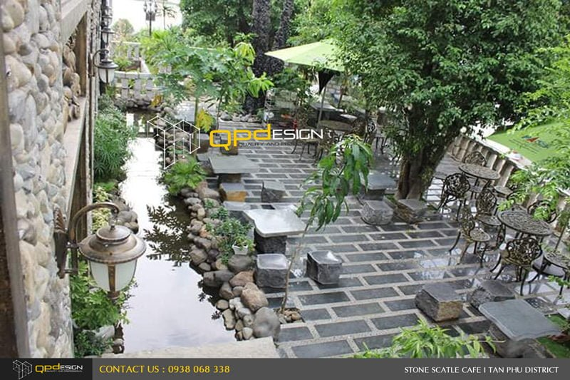 932 Thiết kế thi công nâng cấp cafe Lâu Đài Đá ( Stone Castle) qpdesign