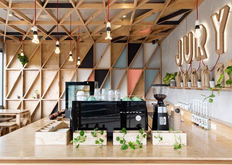 936 Jury Cafe   Quán cafe đầy màu sắc với thiết kế sáng tạo tại Úc qpdesign
