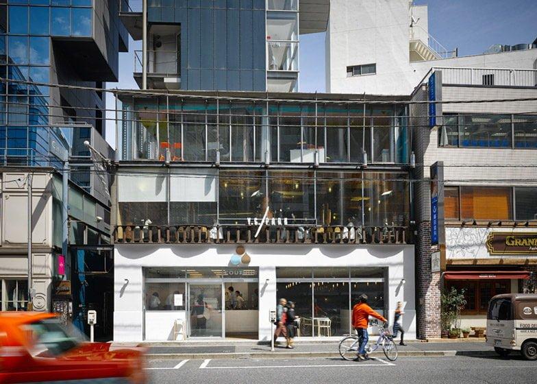 944 Quán cafe độc đáo tại Tokyo lấy ý tưởng từ phòng thí nghiệm qpdesign