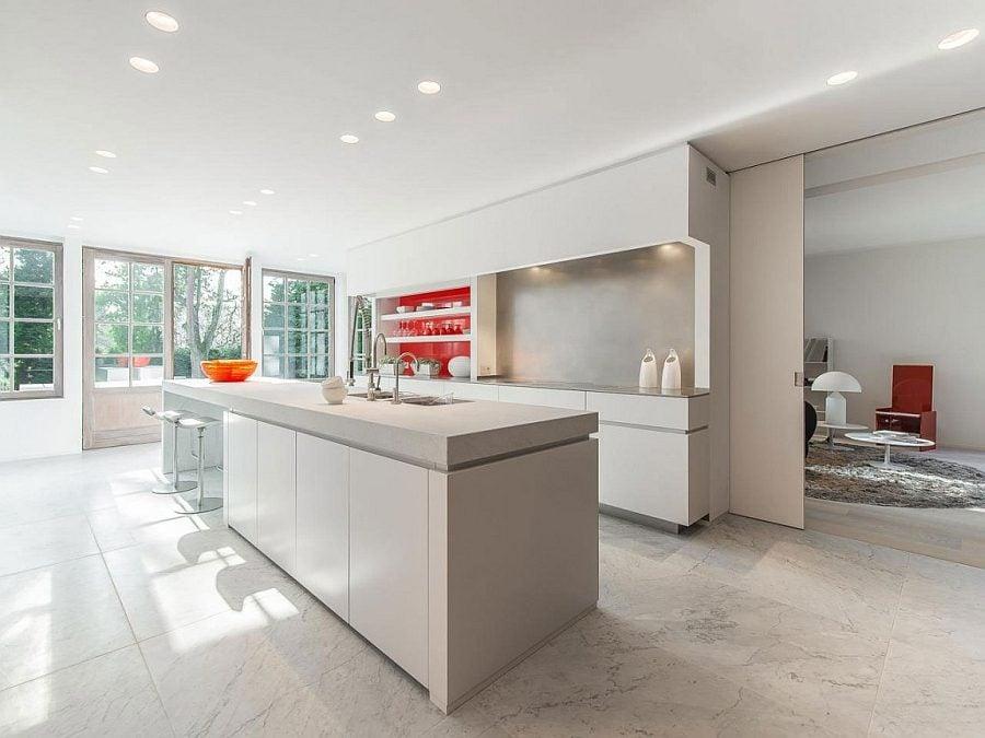95 Ấn tượng với thiết kế nội thất biệt thự vô cùng tinh tế tại Bỉ qpdesign