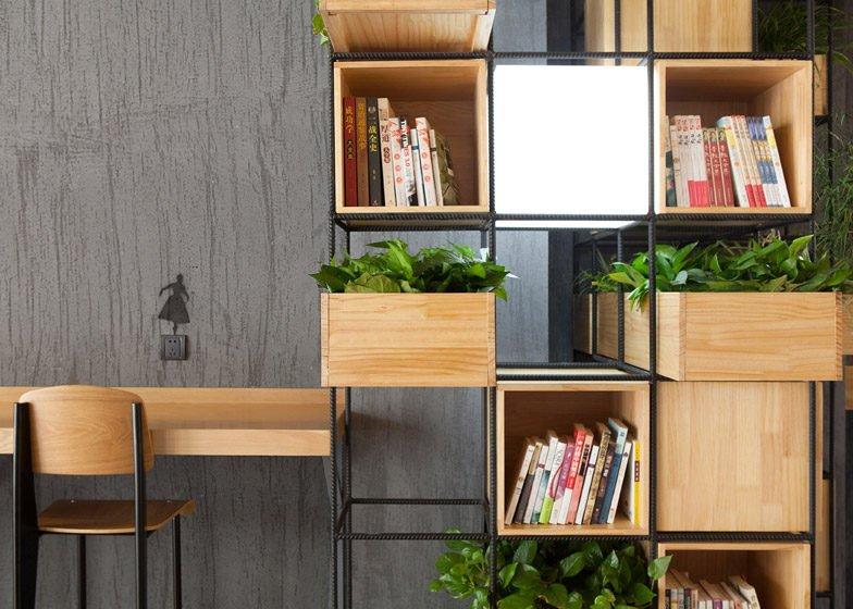 957 Thiết kế cafe xanh ấn tượng và thân thiện với môi trường qpdesign