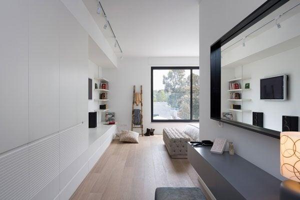 959 Ngôi nhà tinh tế và hiện đại cho người yêu thích sự yên tĩnh tại Israel qpdesign