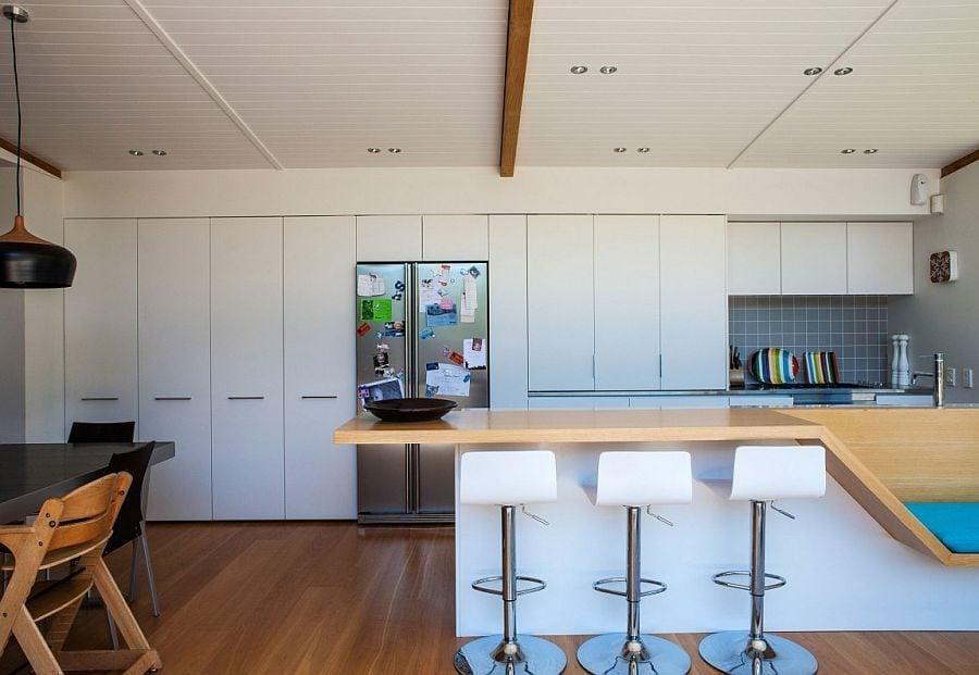 961 Thiết kế nhà phố đơn giản nhưng vẫn thu hút nhờ nội thất ấn tượng qpdesign