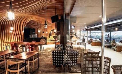 Six Degrees Cafe – Thiết kế cafe độc đáo tại Indonesia