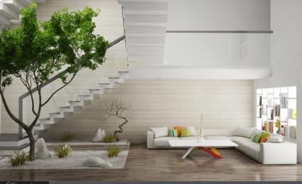 Thiết kế kiến trúc nội thất nhà phố Biên Hòa