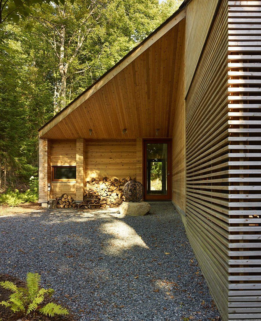 ngôi nhà gỗ hiện đại  10