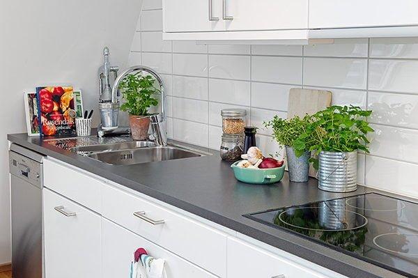 Căn hộ gác mái tại Thụy Điển mang phong cách Scandinavian ngọt ngào