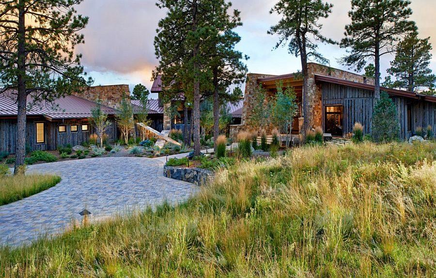 1042 Eberl Residence   Biệt thự nghỉ dưỡng sử dụng đá làm vật liệu chính qpdesign