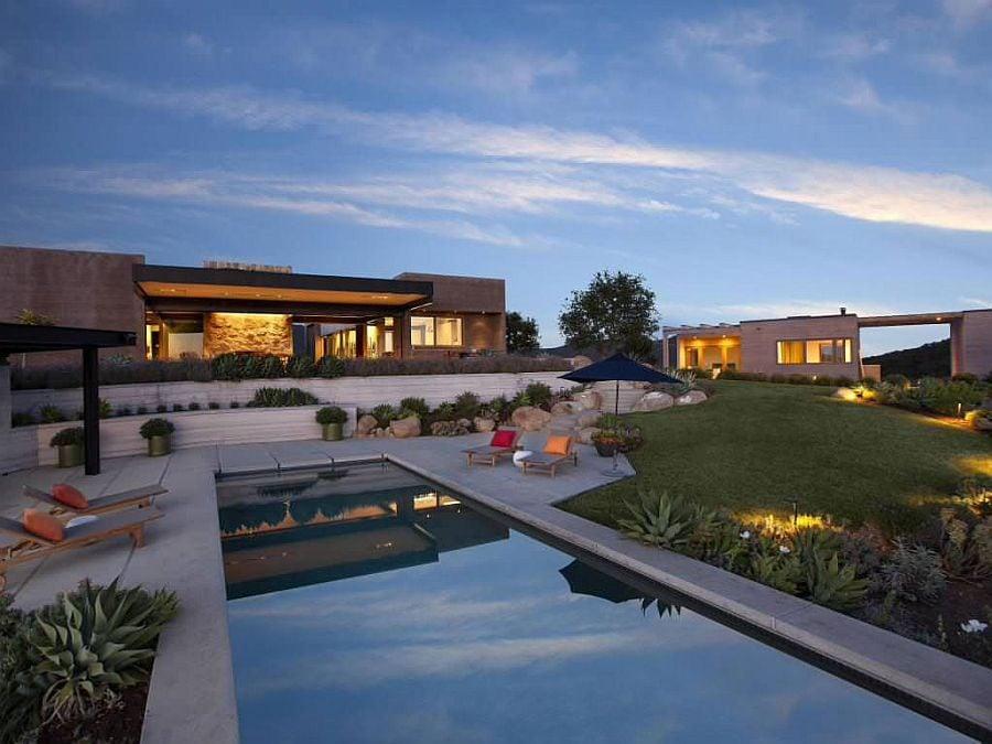 1045 Toro Canyon House   Ngôi nhà hiện đại nằm trên sườn đồi qpdesign