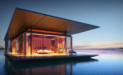 8 mẫu nhà nổi thú vị sẽ khiến bạn thích thú
