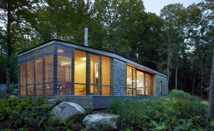Stealth Cabin – Ngôi nhà gỗ hiện đại cho kì nghỉ cuối tuần đáng nhớ