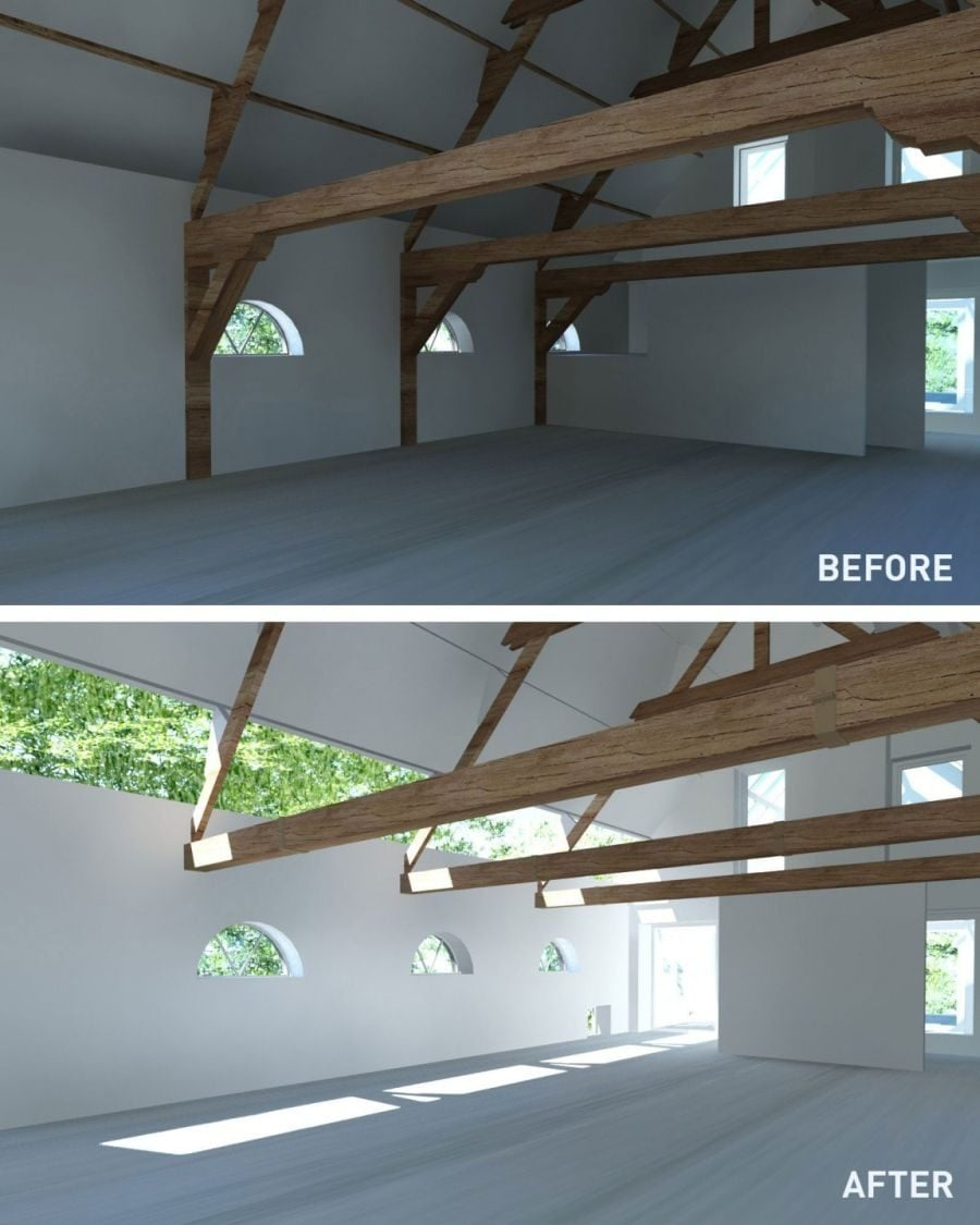 1116 House G Ngôi nhà đẹp và ấn tượng được cải tạo từ một kho thóc cũ qpdesign