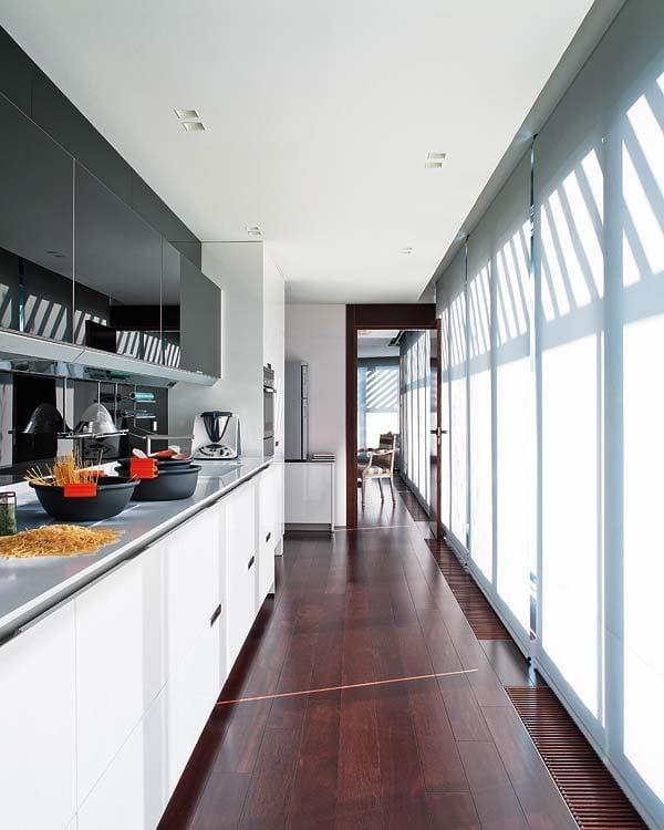 Căn hộ trên tầng thượng với thiết kế sang trọng và tinh tế