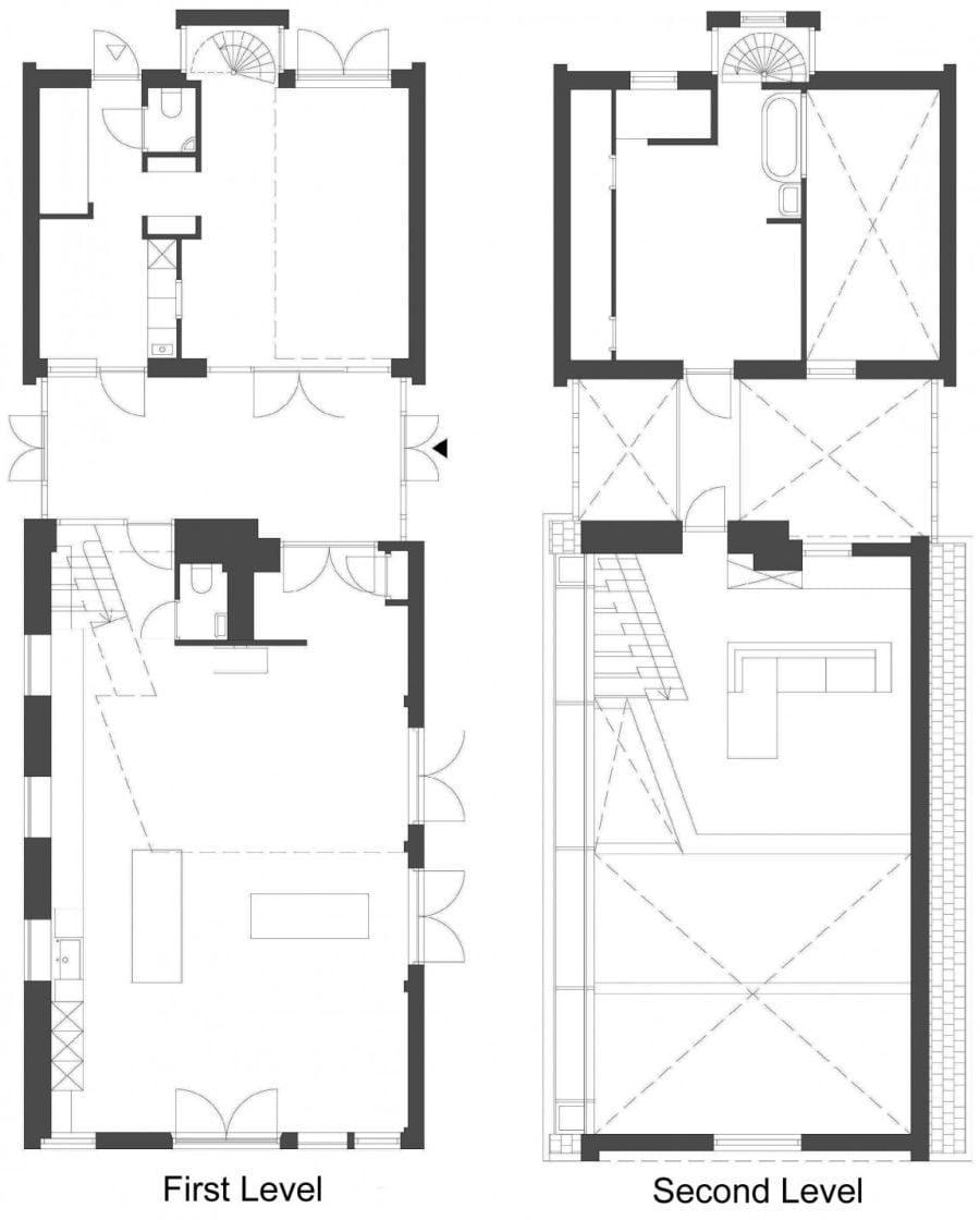 1212 House G Ngôi nhà đẹp và ấn tượng được cải tạo từ một kho thóc cũ qpdesign