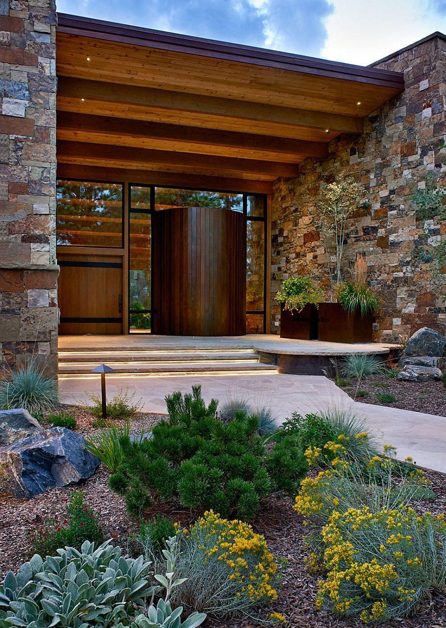1235 Eberl Residence   Biệt thự nghỉ dưỡng sử dụng đá làm vật liệu chính qpdesign