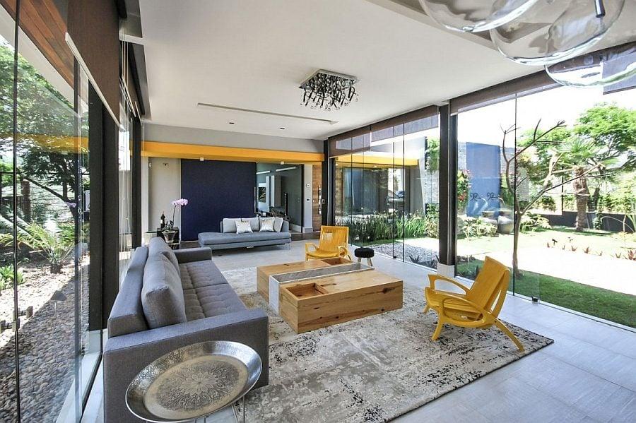 Thiết kế nhà ở hiện đại nhưng vẫn phù hợp với cảnh quan