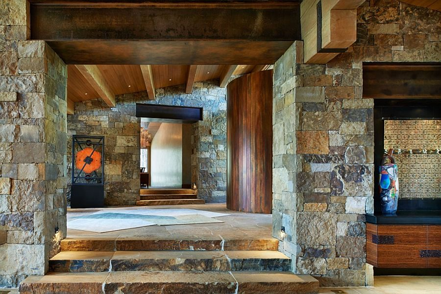 1325 Eberl Residence   Biệt thự nghỉ dưỡng sử dụng đá làm vật liệu chính qpdesign