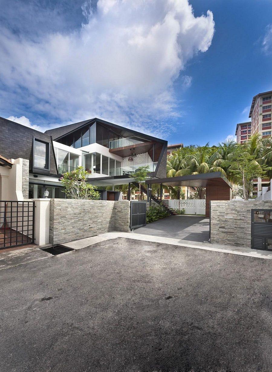 1421 Thiết kế nhà ở hiện đại và lôi cuốn tại Singapore qpdesign
