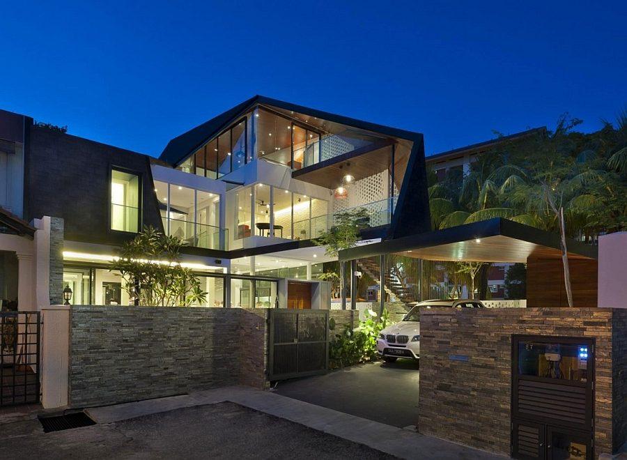 Thiết kế nhà ở hiện đại 15