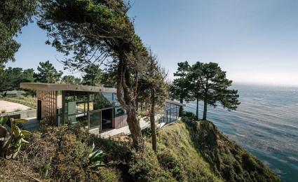 Ngôi nhà trên vách núi với thiết kế ấn tượng