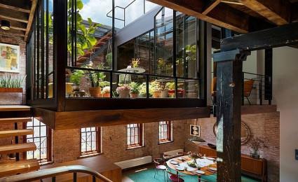 Ngôi nhà tại New York với khu vườn trên sân thượng tuyệt đẹp