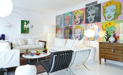Thiết kế nội thất táo bạo và đầy màu sắc của ngôi nhà tại Tây Ban Nha