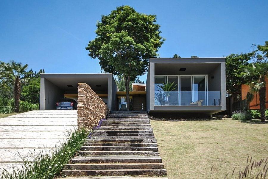 199 Thiết kế nhà ở hiện đại nhưng vẫn phù hợp với cảnh quan qpdesign