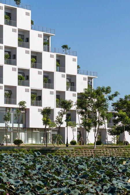 2 1 1438921562 660x0 Tham quan trường Đại học FPT với thiết kế xanh độc đáo qpdesign