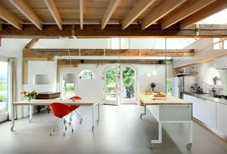 214 House G Ngôi nhà đẹp và ấn tượng được cải tạo từ một kho thóc cũ qpdesign