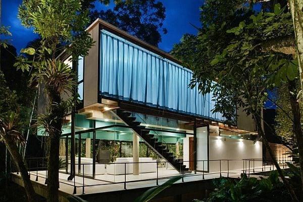 Biệt thự nghỉ dưỡng mùa hè lý tưởng tại Brazil