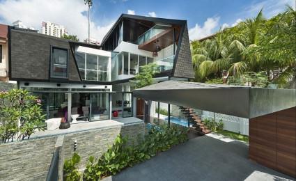 Thiết kế nhà ở hiện đại và lôi cuốn tại Singapore