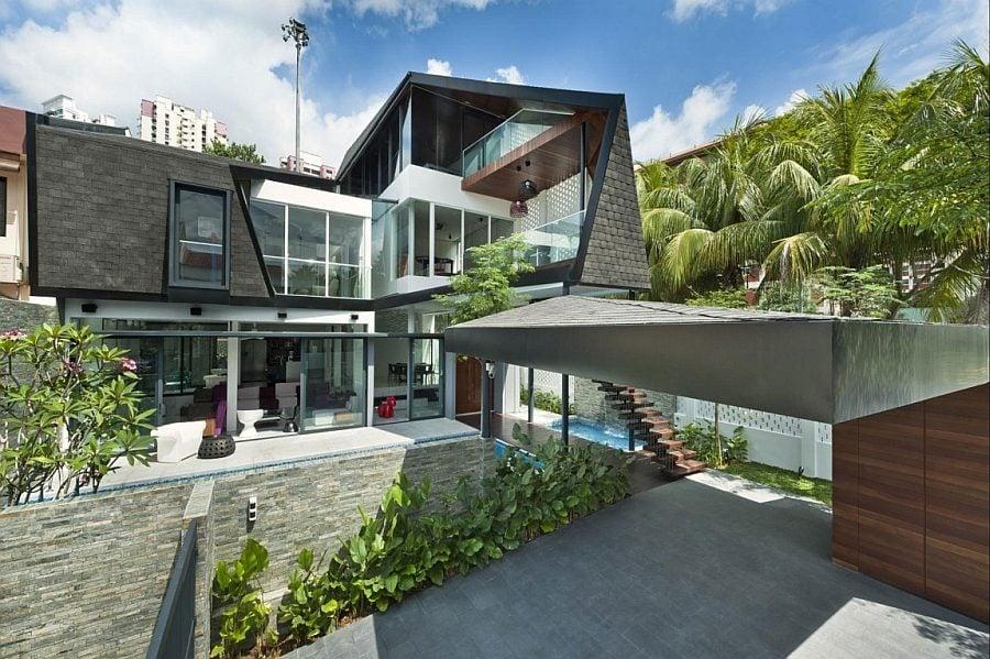Thiết kế nhà ở hiện đại 2