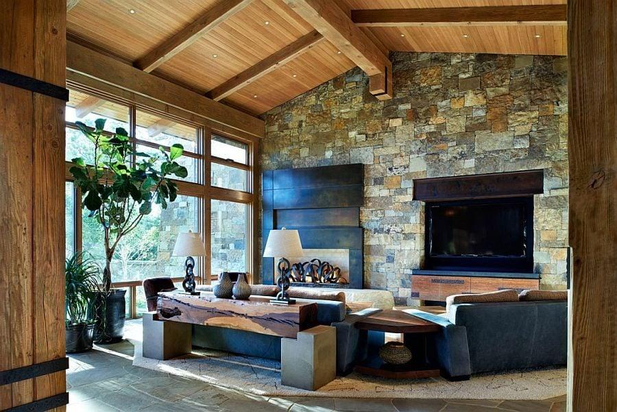 244 Eberl Residence   Biệt thự nghỉ dưỡng sử dụng đá làm vật liệu chính qpdesign