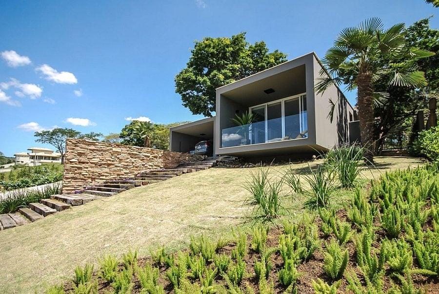 246 Thiết kế nhà ở hiện đại nhưng vẫn phù hợp với cảnh quan qpdesign