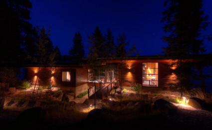 Coeur D'Alene Cabin – Biệt thự nghỉ dưỡng tuyệt đẹp với view nhìn ra hồ