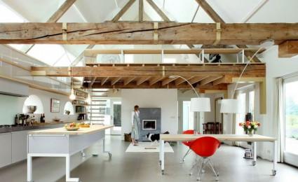 House G – Ngôi nhà đẹp và ấn tượng được cải tạo từ một kho thóc cũ