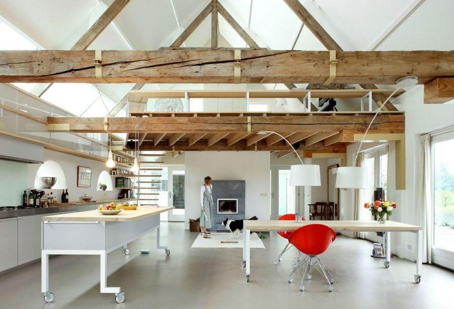 314 House G Ngôi nhà đẹp và ấn tượng được cải tạo từ một kho thóc cũ qpdesign