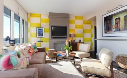 Căn hộ chung cư vui nhộn và đầy sắc màu tại Manhattan