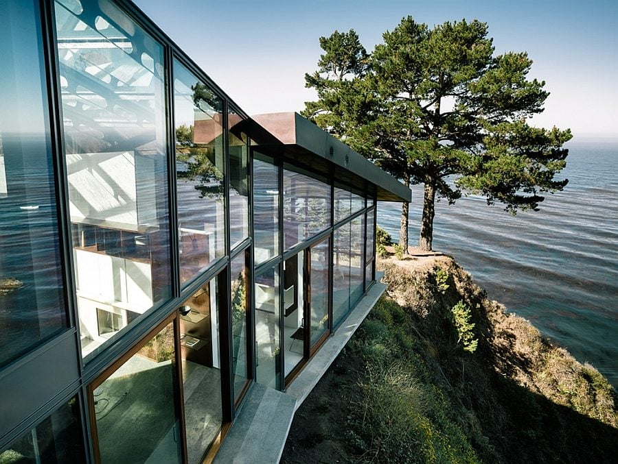 325 Ngôi nhà trên vách núi với thiết kế ấn tượng qpdesign