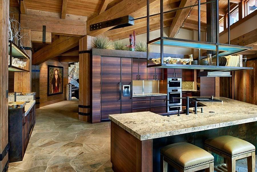 345 Eberl Residence   Biệt thự nghỉ dưỡng sử dụng đá làm vật liệu chính qpdesign