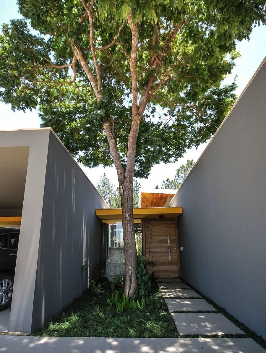 Thiết kế nhà ở hiện đại nhưng 3