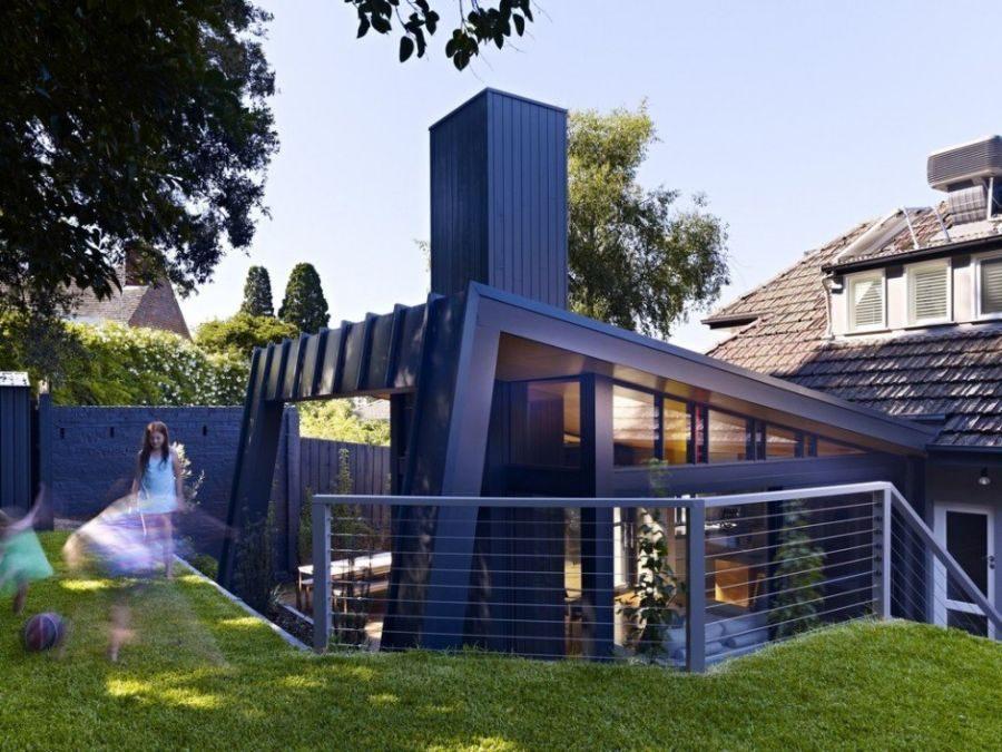 37 Kew House Ngôi nhà dưới lòng đất ấn tượng qpdesign