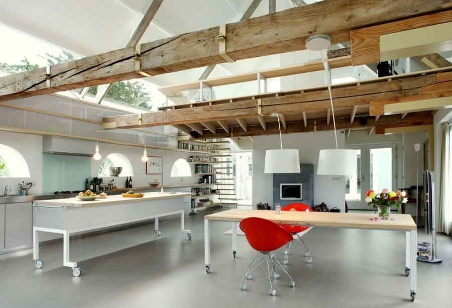 414 House G Ngôi nhà đẹp và ấn tượng được cải tạo từ một kho thóc cũ qpdesign