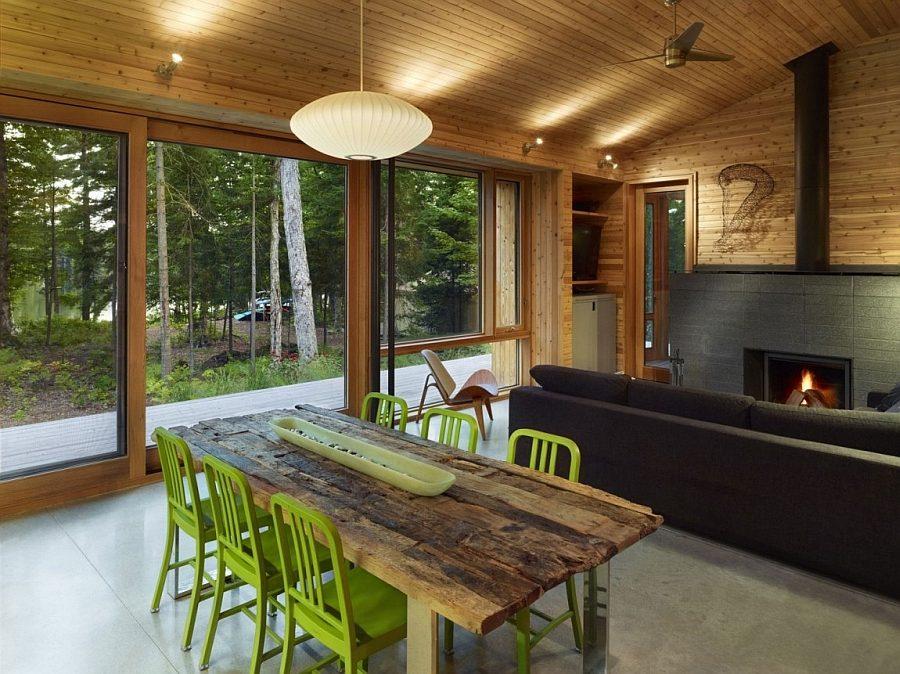 ngôi nhà gỗ hiện đại  5