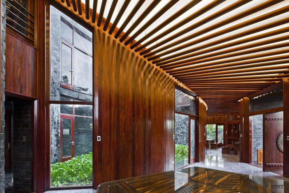 6 1398138908 1200x0 Ngôi nhà đá phủ cây xanh giành giải Kiến trúc xanh Việt Nam qpdesign