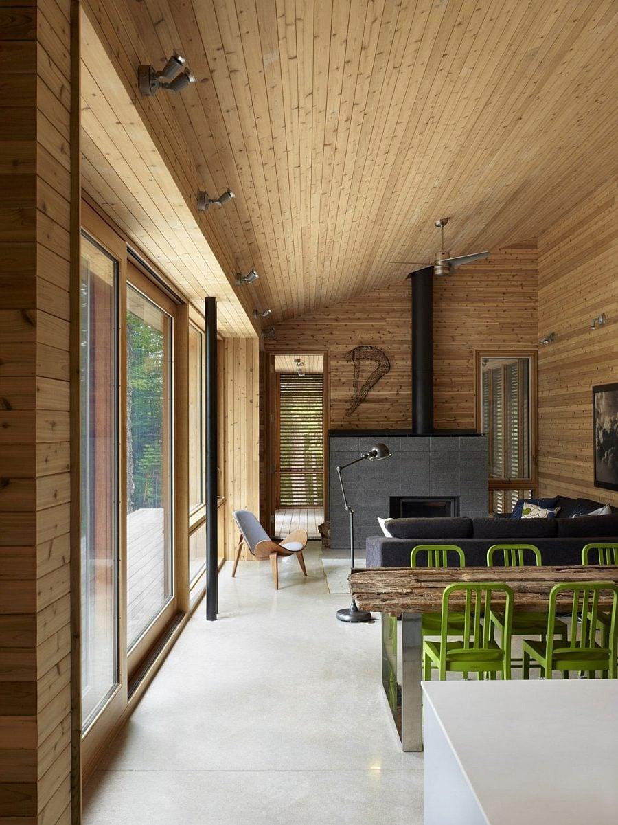 ngôi nhà gỗ hiện đại  6