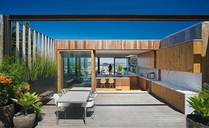 Thiết kế nhà phố ấn tượng tại San Francisco với không gian mở