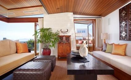 Ngôi nhà mang phong cách Á Đông tại Los Angeles