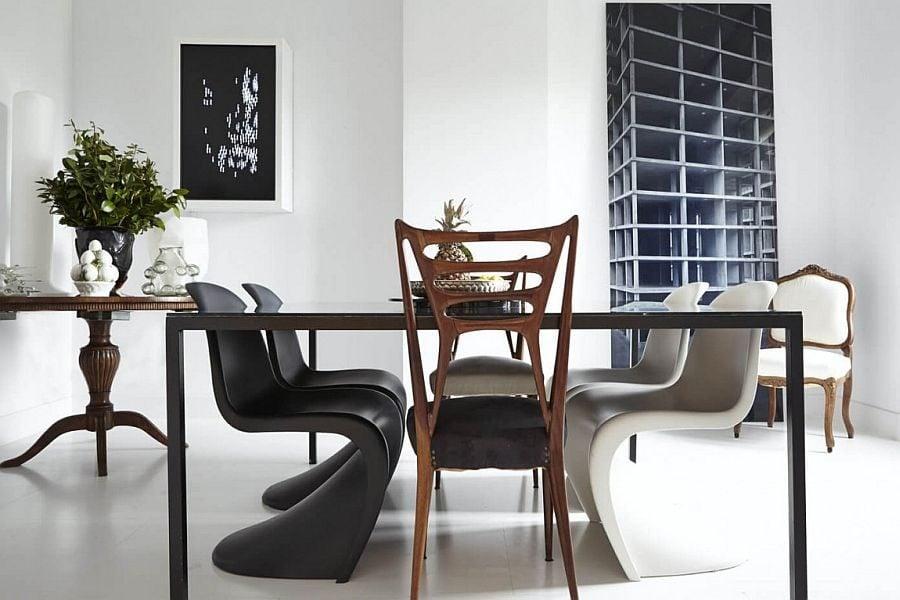 741 Thiết kế nội thất táo bạo và đầy màu sắc của ngôi nhà tại Tây Ban Nha qpdesign